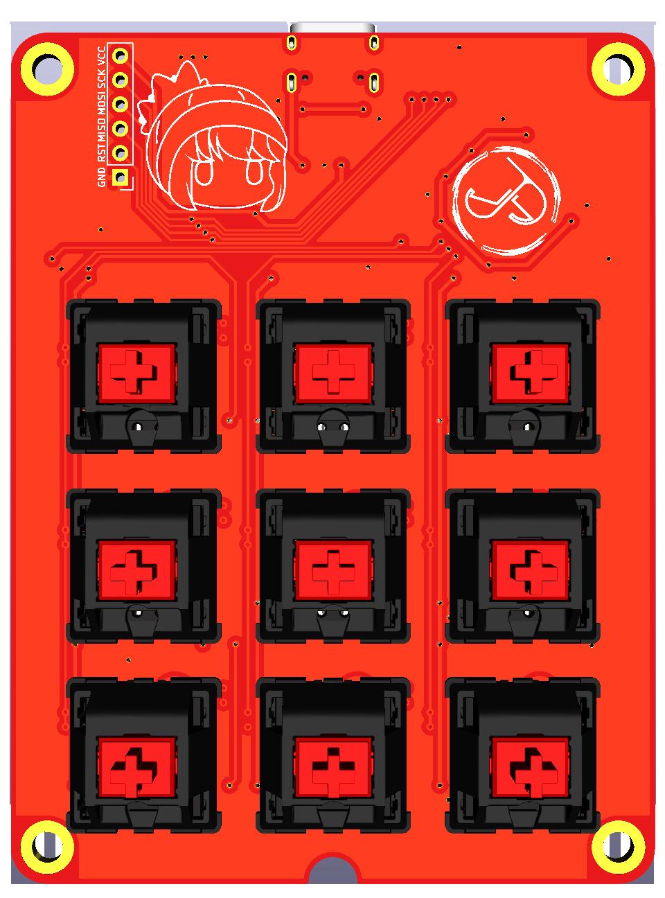Jeremy Macropad PCB design